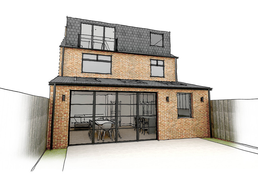 Project that did not require planning permission - permitted development