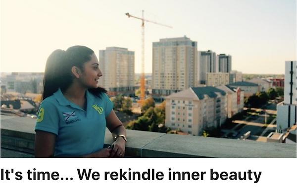 It's time.. we rekindle inner beauty