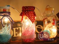 牛奶瓶小夜燈