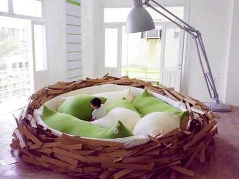 超特別!讓人想永遠賴在上面的溫暖大床