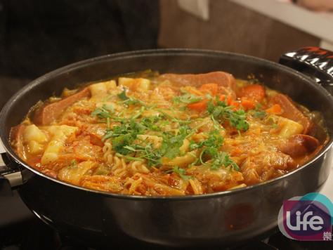 韓式料理 | 什錦韓式冷麵、泡菜豬肉、韓式部隊鍋