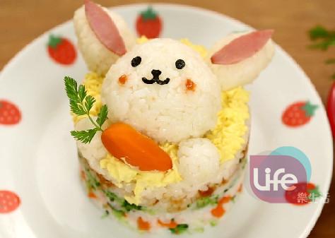 兔子蛋糕飯飯