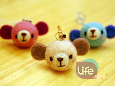 DIY小熊吊飾