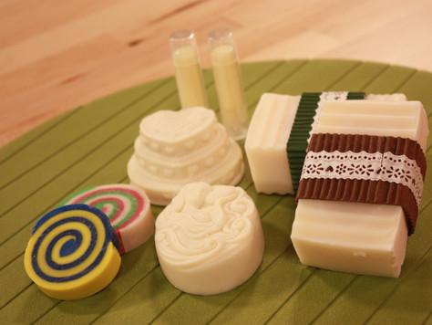 手工保養系-護唇膏、芳香磚