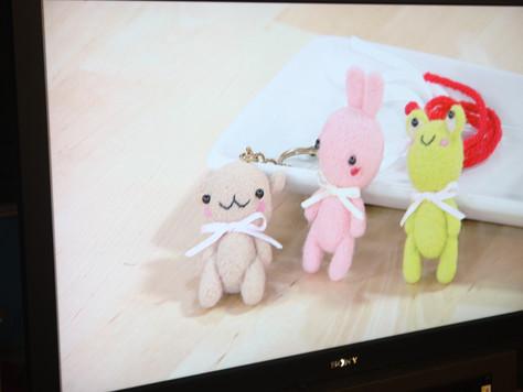 羊毛氈立體小玩偶