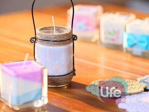 天然香氛分層蠟燭&包裝