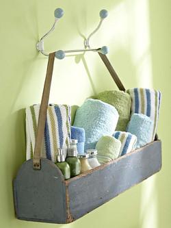 10個浴室收納的創意分享