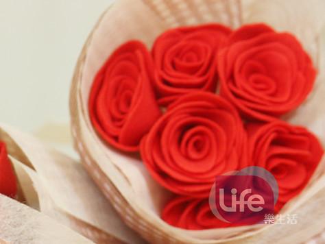 不織布玫瑰花&包裝