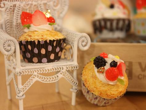 杯子蛋糕包包掛飾