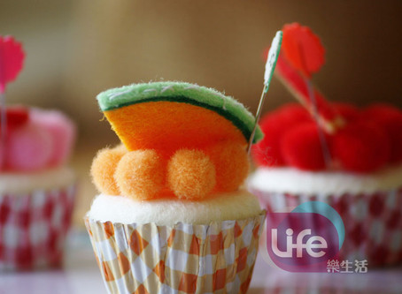 水果杯子蛋糕磁鐵&針插