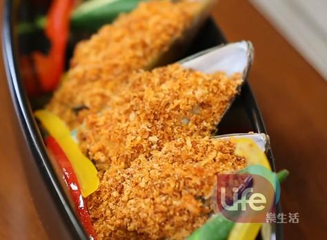 義式酥烤淡菜