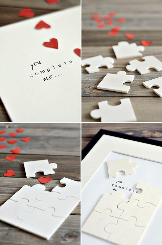 全白的拼圖也很浪漫