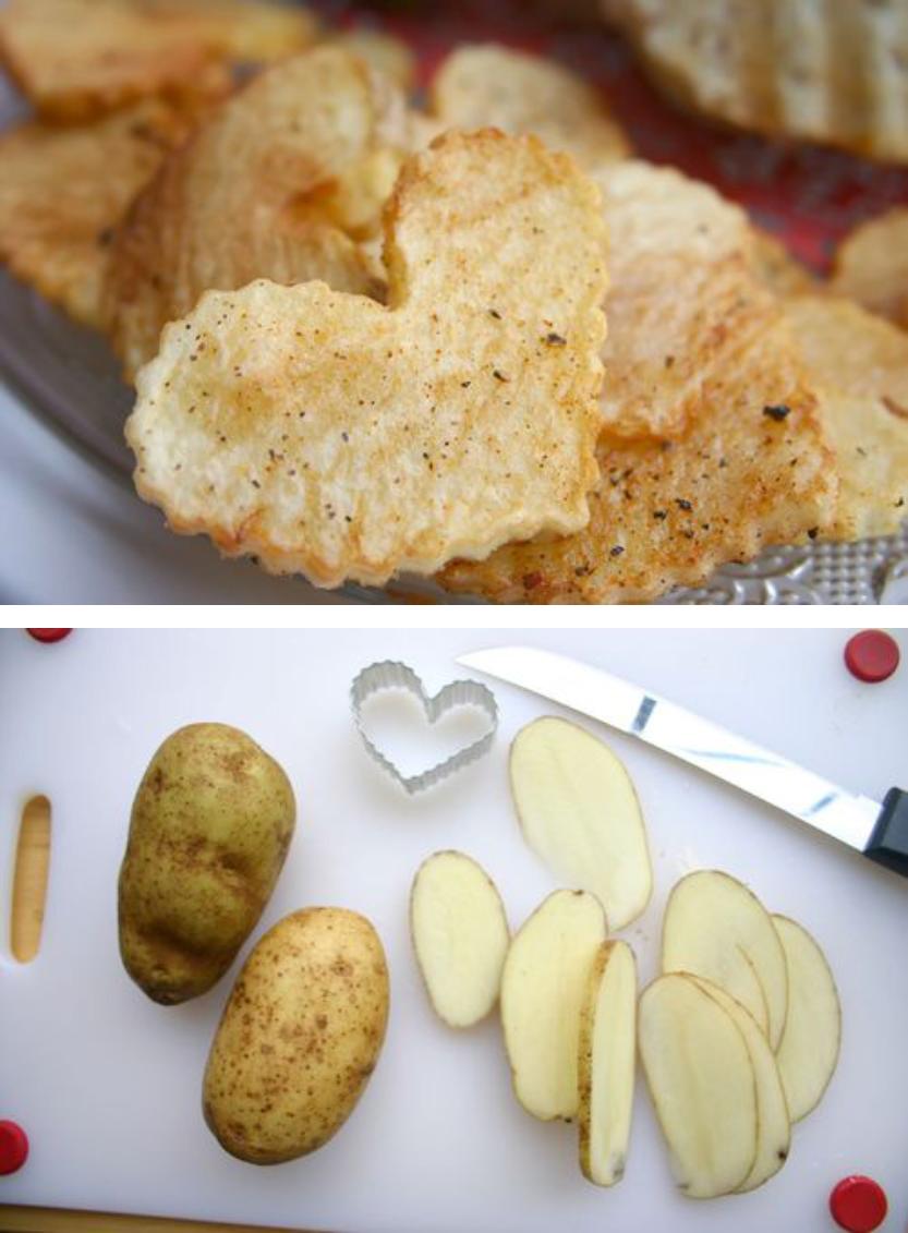 愛心烤馬鈴薯