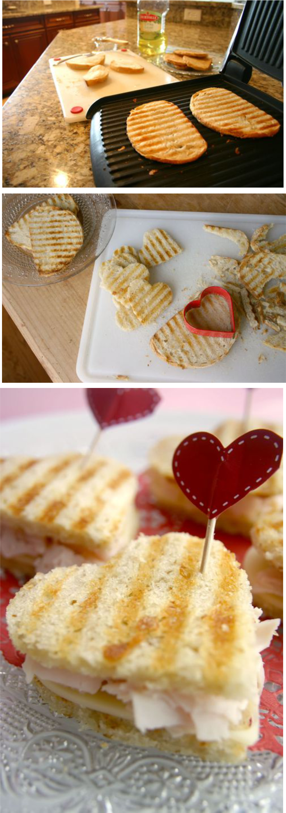愛心烤鮪魚吐司