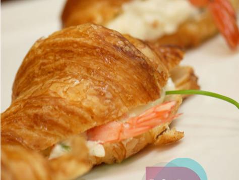 可頌奶油蝦