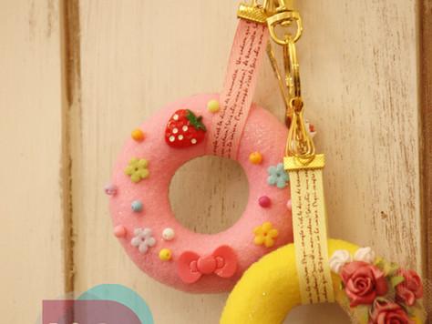 甜甜圈吊飾