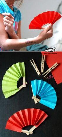 木夾改造小扇子
