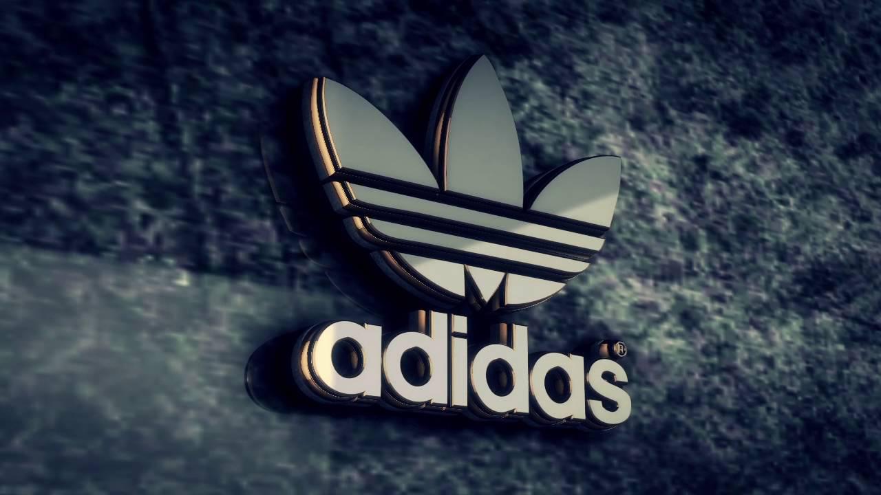 Adidas Logo 3d Render