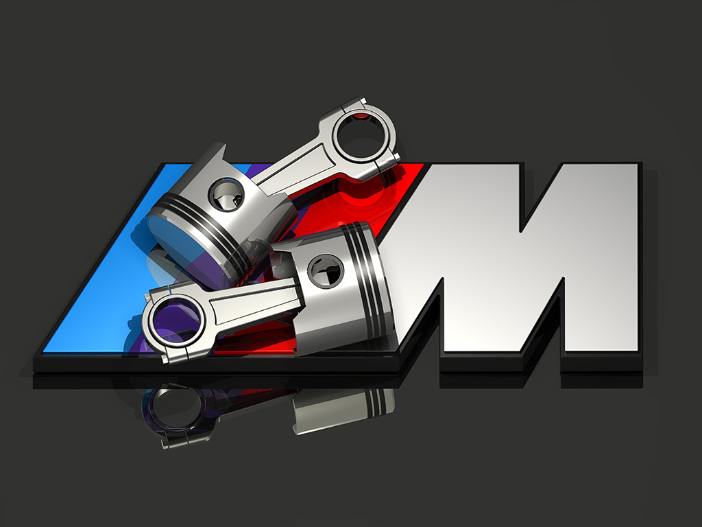 BMW Logo 3D Render
