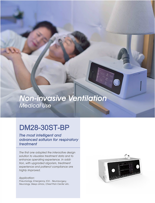 DM28-30ST-BP Non-Invasive Ventilator