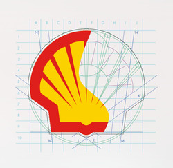 Shell 3D wireframe Design