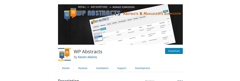 Abstract - WP Theme