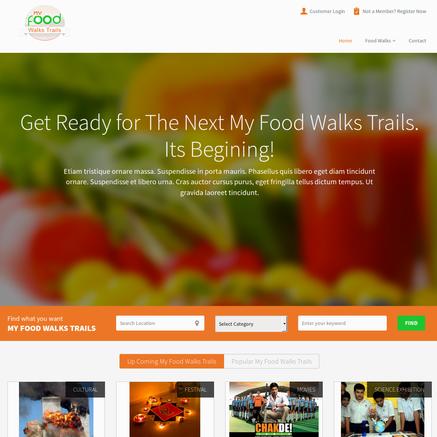 Food Walk Trails