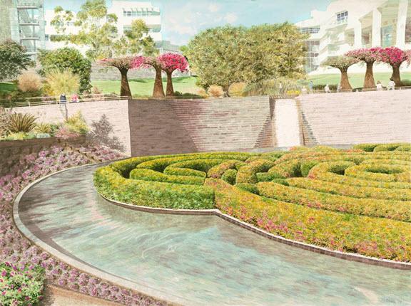 Getty Gardens