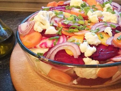 Kraft, quinoa og grønnsaker