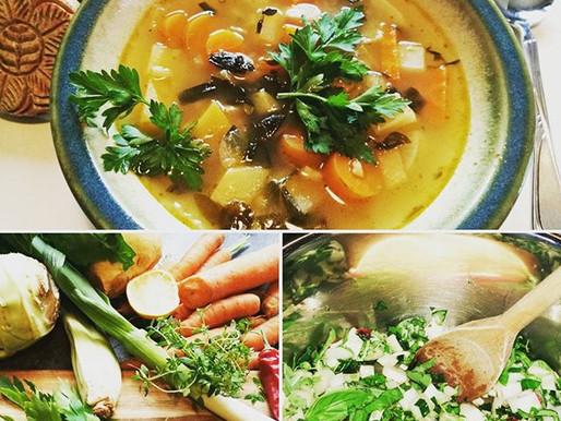 Det blir ikke deiligere og enklere enn suppe!