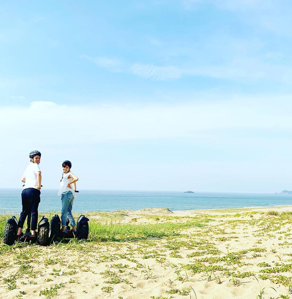 鳥取砂丘セグウェイアドベンチャーガイドツアー