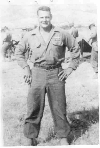 Private Robert Jackson, Company B, 179th Infantry, 45th Division