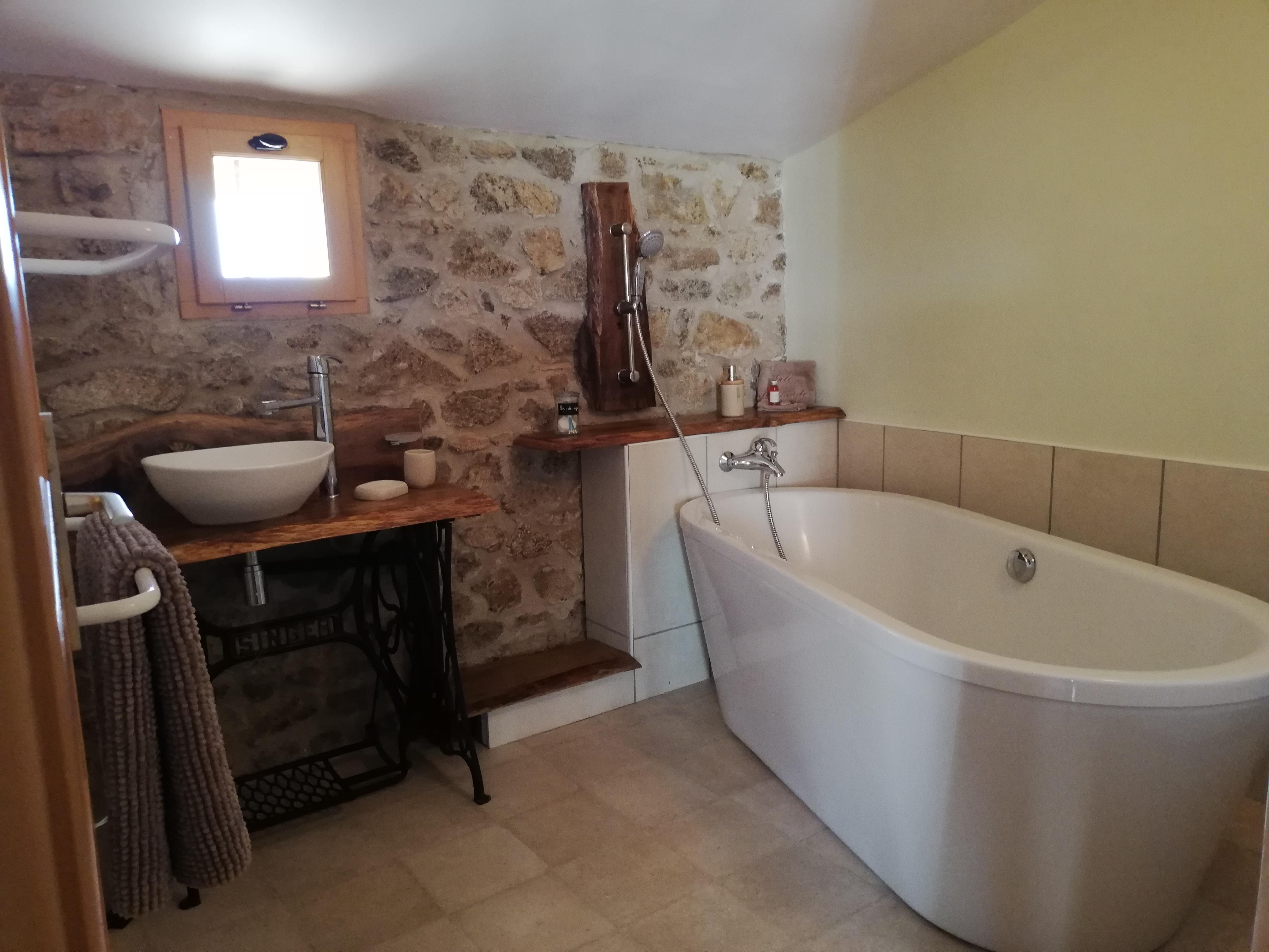 La salle de bain Cep-de-vigne
