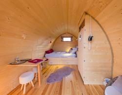 L'intérieur du Pod