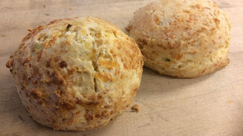 Scallion & Cheese Scones  2ct