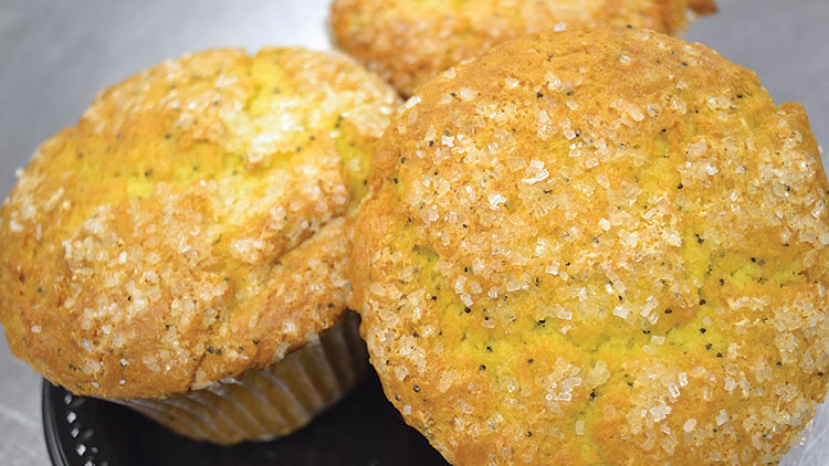 Lemon Poppyseed Muffins 2ct