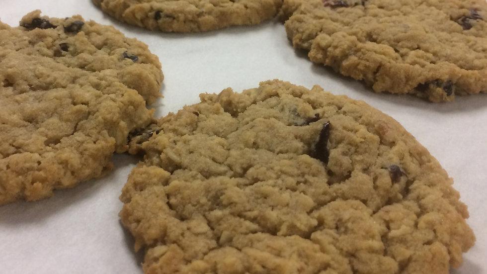 Cranberry Oatmeal Walnut Cookies 10ct