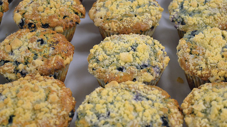 Blueberry Muffins 2ct