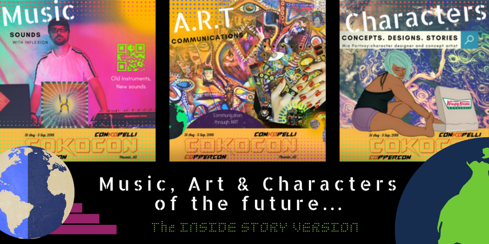 Music, Art & Characters of the Future.pn