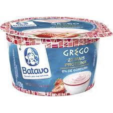 Iogurte Grego Morango 120g