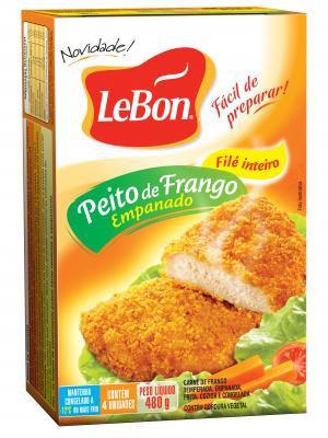 Peito de Frango Empanado Lebon