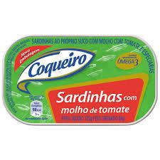 Sardinha c/ Molho de Tomate 125g