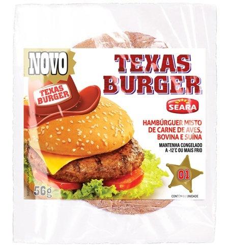 Hambúrguer Texas Burguer 90g