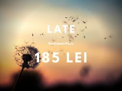 Late - 185 lei -