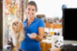 pet supply store employee