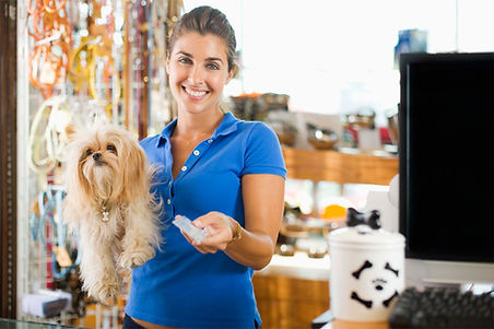 pet supply store employee