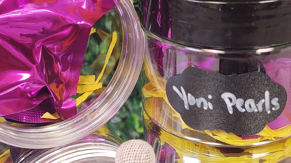 Yoni Detox Pearls (Set of 3)