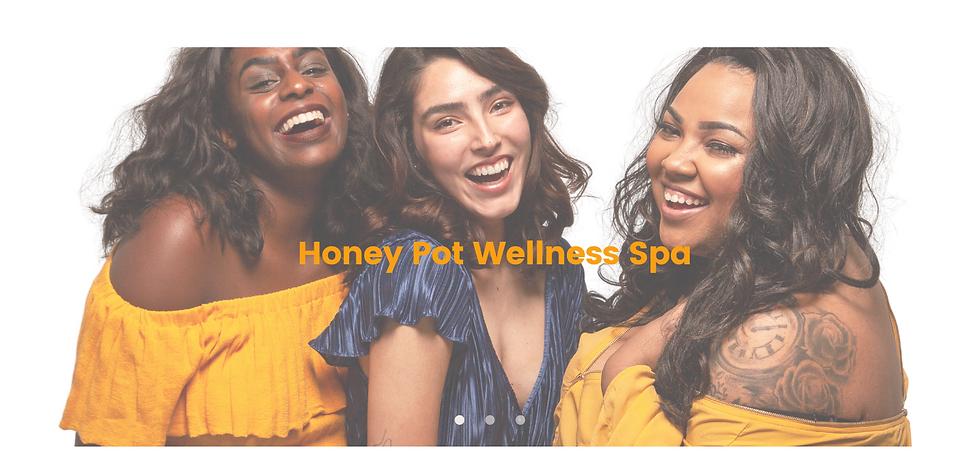 Blue Flat & Minimalist Spa Health Websit