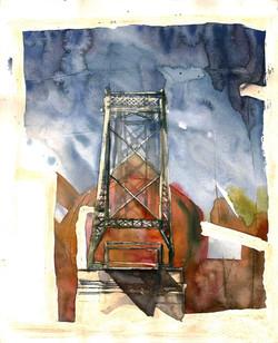 Queensboro Bridge Blue
