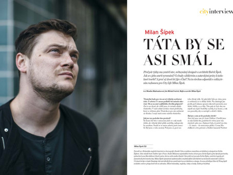 "Milan Sipek ""City Life"" Interview"